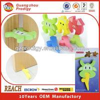 EVA soft rubber glass shower door stop plastic