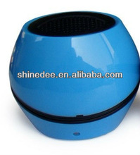 mini digital speaker,round,colorfull, for mobile phone/notebook/mp4 (SP-105)