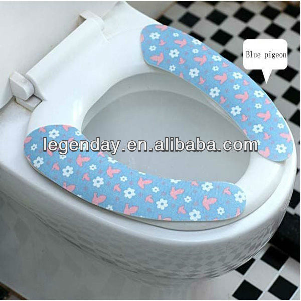 Portable Travel Silione Pocket Toilet Seat Cover