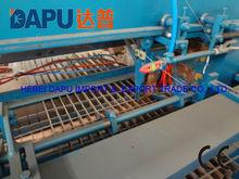 Steel grating making machine