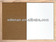 wooden frame pins and magnet writing board