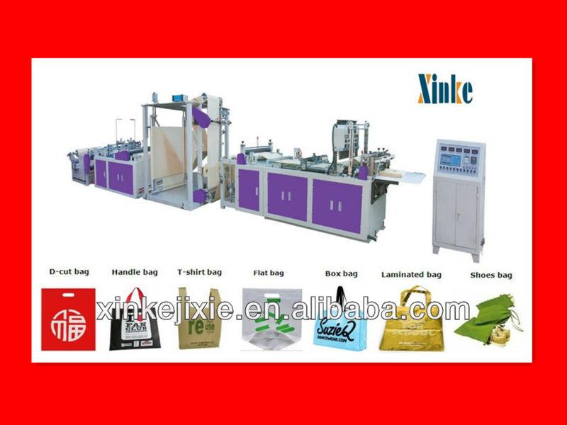 600/700/800 Automatic NonWoven Fabric Bag Making Machine Price ...