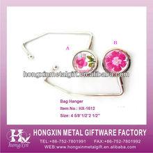 HX-1612 Epoxy&Zinc Ally bag hanger stand
