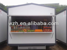 portable prefab kiosk/store/house/guard room