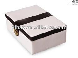 PU leather Decorative Jewelry case , jewelry display case factory (YH-J101)