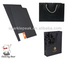 black paper board for shopping bags