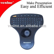 Lenovo 2.4GHz wireless keyboard mini keyboard with trackball