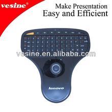 Lenovo 2.4GHz wireless keyboard mini keyboard with trackball