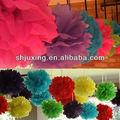 hecho a mano de la moda de grandes flores de papel para manualidades
