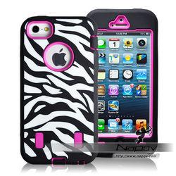 Napov zebra phone covers case for iphone 5