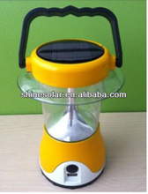 Solar lantern with hand cranking/led camping lantern SN-SLY601