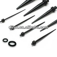 316L Steel Ear Taper Ear Expander Stretcher Body Piercing Jewelry EFT537