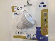 LED Light LED GU10 3W with Ceramic Heat Sank
