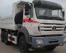 BEIBEN 10 wheeler POWER STAR tipper truck