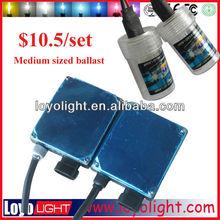 Cheap HID Cool xenon kit $10.5/kit xenon hid kit slim ballast