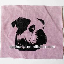 kumaş nakış köpek tasarım