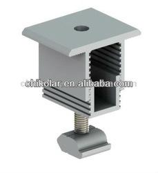 Adjustable solar panle clmap