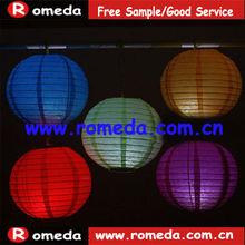 Mixture colors & size!! Fashion led paper lanterns