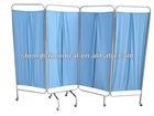 2/ 3/4 folding stainless steel Ward /hospital screen