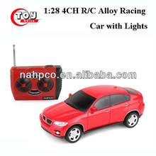 1:28 4CH R/C Alloy Racing Car with Lights
