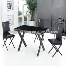 modern table.new design dining table.dining tableJL003 with 4 or 6 chairsF616