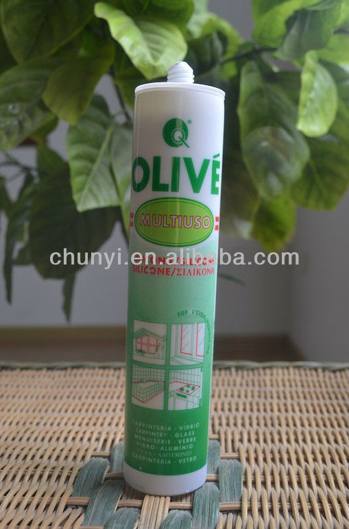 clear silicone adhesive