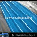 venda direta da telha metálica telhados telhas de aço galvanizado material de construção preço por folha