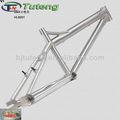 gr9 marco de titanio para bicicleta bmx