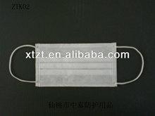 Poeira prevenir / prevenção de poeira CE mared não tecido descartável 3ply ( PP não tecido + Meltblown + PP não tecido ) máscara facial com earloops