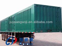best selling cargo semi trailer house,3 axles truck cargo box,side open truck