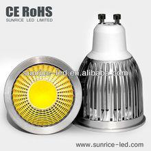 50X66mm COB GU10 5w standard size spotlight