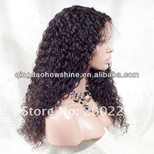 AAAAA grade tangle free 100% Indian virgin hair lace front wig