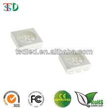 High brightness 1800-2200 MCD Red 5050 smd led
