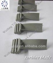Liga de níquel com base lâmina de turbina usado de motores marítimos