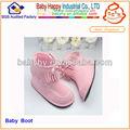 guangdong alta qualidade warm botas de couroinfantil