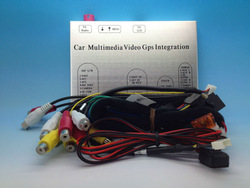 Mercedes-Benz NTG4.5 Round connector LVDS ML Class 5 inch, 5.8 inch and 7 inch monitor Video Interface