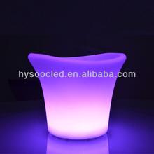 Led de silicona cubo de hielo/led cubo de aluminio