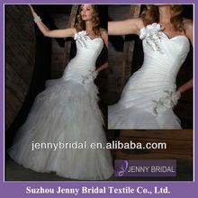 PB006 Sweetheart wedding dresses mermaid cut