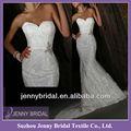 pb016 estilo sereia vestidos de noiva neckline do querido