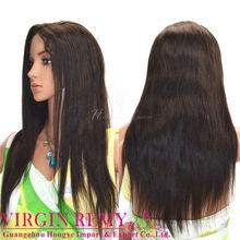 2012 fashion style Brazilian human hair full lace wig