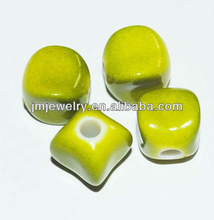 Green color imitation jewelry beads making bulk kit for 2013