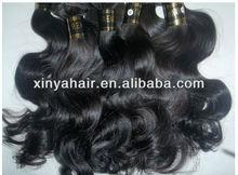 2012 Popular Wavy Russian Virgin Hair Weaving/Extension