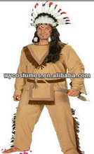 authentic Indian costumes for man halloween and party