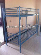 modren bedroom furniture school furniture cheap metal bunk bed EN747 standards
