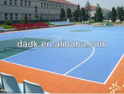 Skipproof bird's nest pp modular basketball flooring