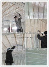 Spray foam insulation for walls