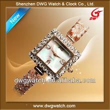 Luxury Ladies Bracelet Diamond Watch