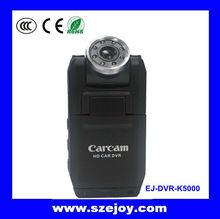 Hot sell Rotatable 2ch LCD Screen carcam Full hd 1080p DVR Car ,car video recorder,car black box cameraK5000