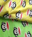 süblimasyon dijital polyester mikro süet hayvan desenli kumaştan