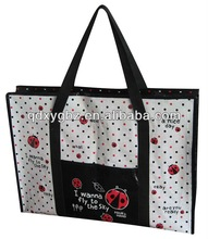 2012 recycle PP woven shopping bag
